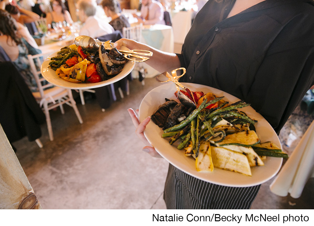 Wedding catered by Carlucci Catering of Kinderhook and Chatham, NY